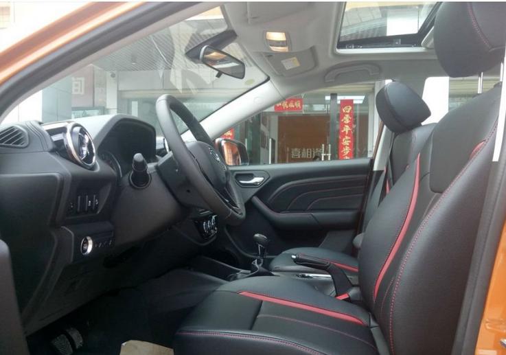 成都出售二手车,准新车DX3手动1.6自动尊贵版