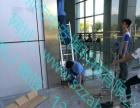 坪山维修门禁坑子玻璃门维修中安博专业维修办公玻璃门