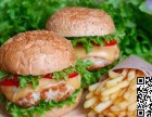 华客多汉堡加盟热线 炸鸡汉堡薯条技术培训费