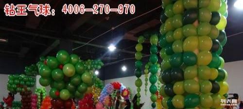海南三亚气球布置 大型气球展装饰 商场开业气球装饰
