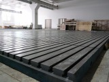 河北永安机械平台专业生产厂家定做铸铁T型槽焊接平台