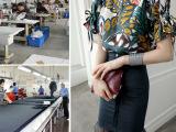 淘工厂-欧美女套装来版加工生产定制 广州淘宝小批量服装加工