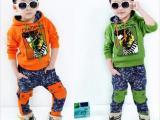 秋冬款童装 韩版男童运动两件套装 中大童套装 品牌童装 一件代发