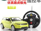 重力感应遥控车 方向盘路虎112遥控汽车模型 儿童玩具一件代发