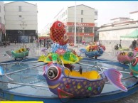 河南鲤鱼跳龙门游乐设备厂家占地8米乘坐16人的广场娱乐设施