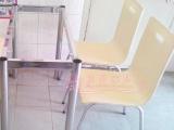 厂家直销餐桌餐椅 不锈钢曲木椅不锈钢圆桌
