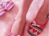 爱心秋冬夏包跟月子鞋 春夏款软底居家拖鞋 家居鞋 平底瑜伽鞋