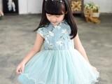 韩版新款春秋儿童公主裙童装透气裙子轻薄裙女孩裙