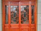 西安窑洞门窗,实木门窗,古建门窗,松木门窗定做