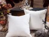 百年新业酒店布草床上用品方形靠枕芯抱枕芯