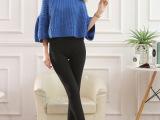 新款韩版时尚修身加绒加厚踩脚一体裤白竹炭收腹提臀冬季打底裤