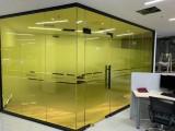 承接工程玻璃貼膜 磨砂膜 漸變膜 防曬太陽膜包安裝