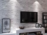 廠家直銷特價現代3D 磚紋墻紙 工程壁紙 酒店店面玄關背景墻壁紙