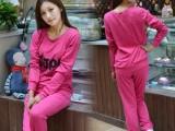 时尚新款宽松加肥两件套装 韩版大码女装运动休闲套装