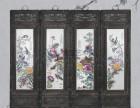北京珠山八友瓷板画交易专业权威鉴定机构