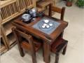 户外小茶台 仿古茶几老船木家具厂家直销