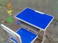 批发全新中小学生课桌椅儿童桌幼儿园环保学习桌白板