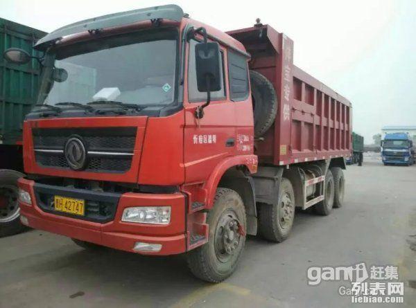 出售15台6米创普特商砂石王轻皮前四后八自卸车