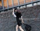 韩版夏季新款短袖不规则立体拼接喇叭袖小黑裙L码长95