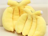 **特价可爱水果香蕉抱枕靠垫创意超大号毛绒玩具男女情人节礼物