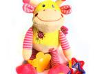 ELC益智可爱的挂件牙胶小鹿摇铃 车床挂件  特价清仓 宝宝玩具