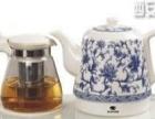 西安玻璃面板智能自动上水壶,竹韵陶瓷套装水壶 套壶