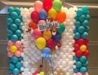 气球布置、小丑表演、气球秀、气球拱门,艺术气球等