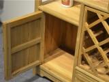 榆木红酒柜隔断柜组合仿古现代装饰柜展示柜