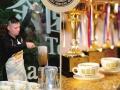 地道手工拉茶加盟 金茶王 纯手工拉制 地道奶茶加盟