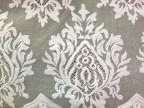 批发高品质服装辅料花边满幅蕾丝面料   定型纱 手工镂空 火焰