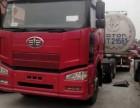 中国二手车交易市场出售二手解放J6双驱半挂牵引大货车头