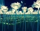 上海发光玫瑰花海开业庆典 梦幻灯光节.花灯制作