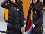 78块韩版热销原单中长款棉服 可选款 大毛领 可货到付款
