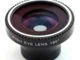 phone5 4/4s三星htc小米通用鱼眼广角磁吸式机镜头