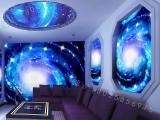 艺术玻璃电视瓷砖背景墙uv打印机3d/5d背景墙万能打印机