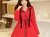 2014冬季新款女装韩版棉衣加厚中长款大码显瘦棉外套