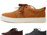 先驱者新款低帮男鞋 牛皮反绒皮休闲鞋潮鞋板鞋系带男鞋071