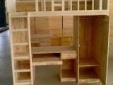 供应实木床 学生实木床 组合床 公寓床