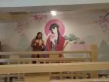 广州乡镇文化墙专业壁画彩绘 农村文化村高端墙绘