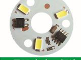 配件直销 3w蜡烛灯配件5730贴片灯板220v免驱筒灯配件球泡
