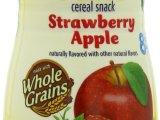 美国嘉宝Gerber 婴幼儿食品 草莓苹果味星星泡芙42g