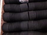 河北耐磨橡胶波纹管 大口径钢丝骨架通风除尘管 橡胶伸缩管