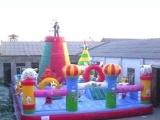 大型充气玩具,充气跳床,冲气喜洋洋城堡