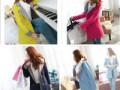 呼和浩特哪有最低价服装批发冬季中长款加厚修身呢子大衣棉服批发