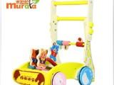 正品 多功能调速升降木制质婴幼儿童宝宝学步手推车玩具1-3岁