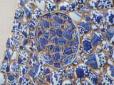 凹凸藝術創意坊 新中式陶瓷碎片拼接漢服 客廳家居裝飾畫