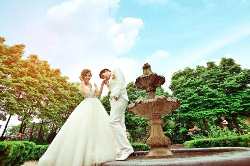 7夕情人节 天空摄影 婚动全城