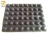 厂家直销 防滑胶垫 透明胶垫 黑色硅胶垫 半球橡胶垫