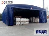 重庆大排档伸缩推拉篷 大排档伸缩雨棚 工艺精良 性能优异