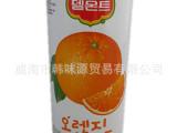 韩国食品批发/乐天德门特橙汁/ 柠檬汁